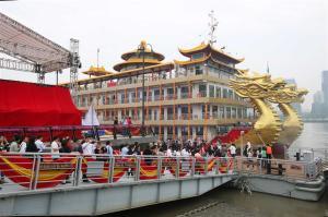 New Cruise ship - photo Wang Rongjiang _ SHINE